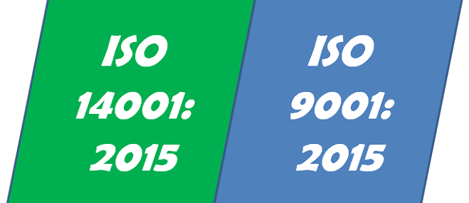 ISO 14001:2015 ISO 9001: 2015