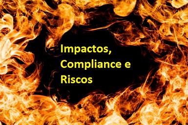 impacto compliance e riscos