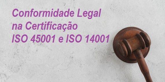 conformidade legal certificação ISO 45001 ISO 14001
